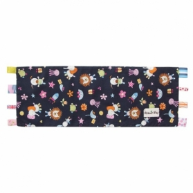 Beanie Nap Pillow Cover with Taggies - Twilight Zoo