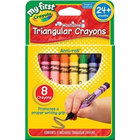 MY 1ST CRAYOLA Washable Easy Grip Crayons - 8ct