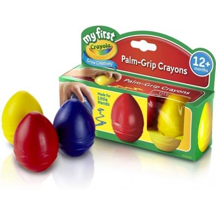 MY 1ST CRAYOLA Palm-Grip Crayons - 3ct