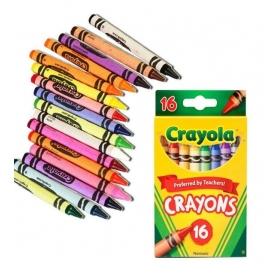CRAYOLA Nontoxic Crayons - 16ct