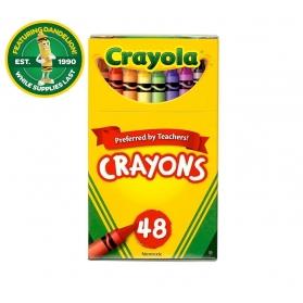 CRAYOLA Nontoxic Crayons - 48ct