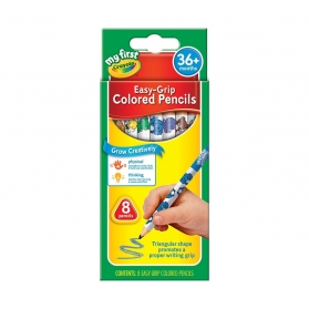 MY 1ST CRAYOLA Easy Grip Colored Pencils - 8ct