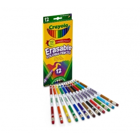 CRAYOLA Erasable Colored Pencils - 12ct