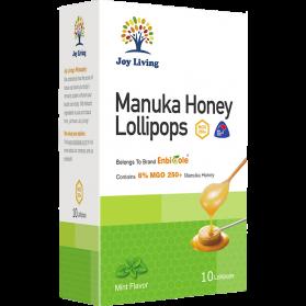 Joy Living Manuka Honey Lollipops - Honey Mint