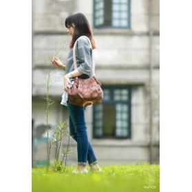 Nuhox Pull-and-Go Shoulder Bag - Taiwan Persimmon