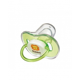 SIMBA Candy Thumb Shaped Pacifier-Green (0m+/6m+)