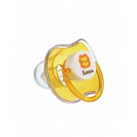 SIMBA Candy Thumb Shaped Pacifier-Yellow (0m+/6m+)
