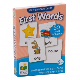 TLJI SEE & SAY FLASHCARD - FIRST WORDS