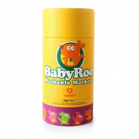 Joan Miro BabyRoo Washable Markers - 12ct