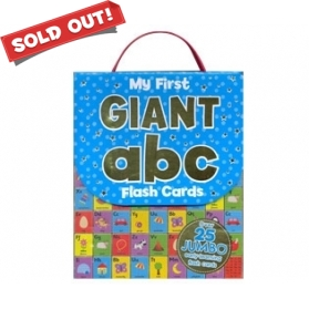 MY FIRST GIANT ABC FLASH CARDS