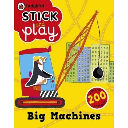 Ladybird Stick and Play: Big Machines