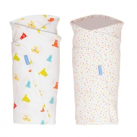 GROBAG Swaddle (Twin Pack) - Spotty Bear