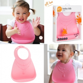 Make My Day Baby Bib - Pretty in Pink