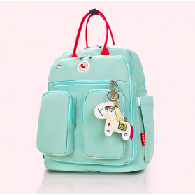 LAGAFFE Macaroon Diaper Backpack - Green