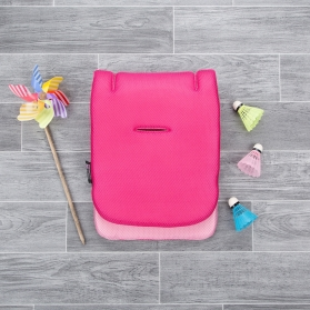 CuddleCo Comfi Cool Stroller Liner- Raspberry Sorbet