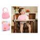 Make My Day Baby Bib - Peter Pan Pink
