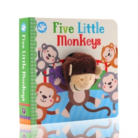 Little Me Finger Puppet Book - Five Little Monkeys