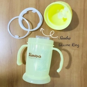 Simba Flip-it Straw Training Cup Alternate Silicone Ring Replacement 1pc/pack