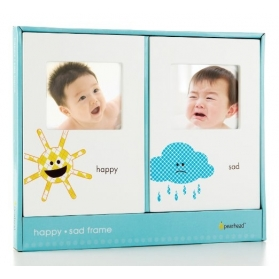 PEARHEAD HAPPY-SAD FRAME SET (SET OF 2)