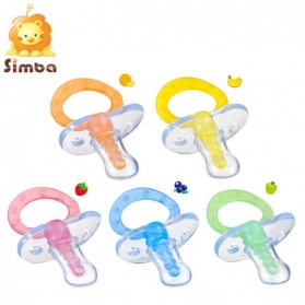 SIMBA Fruit Vision Massage Pacifier - Thumb Shape (0m+/6m+)