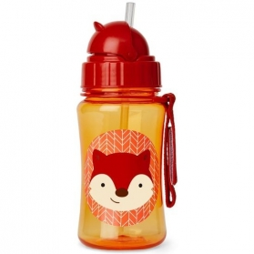 SKIP HOP Zoo Straw Bottle - Fox