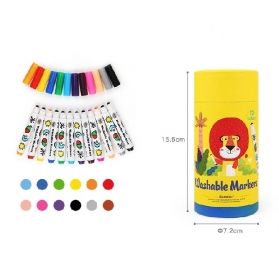 Joan Miro Round Penpoint Washable Markers - 12ct