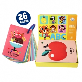 Joan Miro ABC Ring Flash Cards Baby Early Education Toy