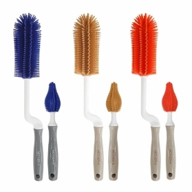 MOTHER-K Silicone Brush - 2 Kinds of Set