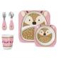 SKIP HOP Zoo Meal Time Feeding Gift Set - Daisy Deer