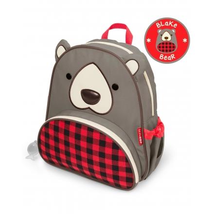 SKIP HOP Little Kid Zoo Backpack - Blake Bear