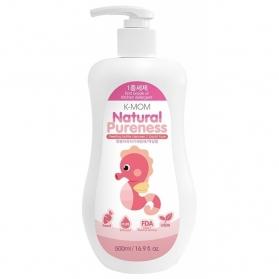 KMOM Natural Feeding Bottle & Food Cleanser - Liquid Type (500ml)