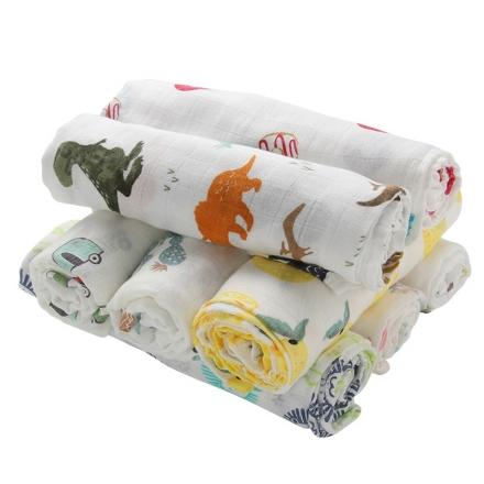 Kidzbee Bello Bamboo Baby Swaddle - 2pcs Pack
