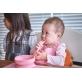 Marcus & Marcus Silicone Feeding Spoon - Pink Pokey