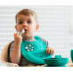 Marcus & Marcus Palm Grasp Spoon & Fork Set - Green Ollie