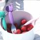 Marcus & Marcus Toddler Spoon & Fork Set - Pink Pokey