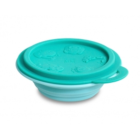 Marcus & Marcus Silicone Collapsible Bowl - Green Ollie