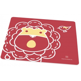 Marcus & Marcus Silicone Placemat - Red Marcus
