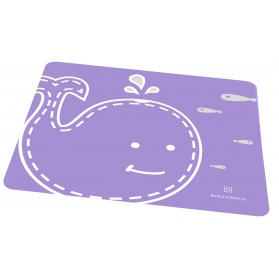 Marcus & Marcus Silicone Placemat - Purple Willo