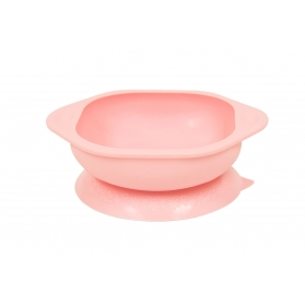Marcus & Marcus Silicone Suction Learning Bowl - Pink Pokey