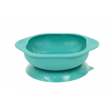 Marcus & Marcus Silicone Suction Learning Bowl - Green Ollie