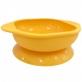 Marcus & Marcus Silicone Suction Learning Bowl - Yellow Lola