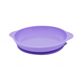 Marcus & Marcus Silicone Suction Plate - Purple Willo