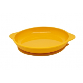 Marcus & Marcus Silicone Suction Plate - Yellow Lola