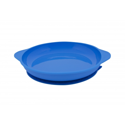 Marcus & Marcus Silicone Suction Plate - Blue Lucas