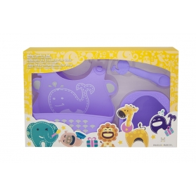 Marcus & Marcus Baby Feeding Starter Set - Purple Willo