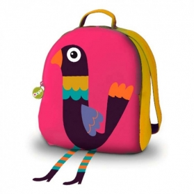 Oops All I Need Soft Backpack – Lady The Peacock