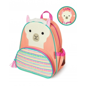 SKIP HOP Little Kid Zoo Backpack - Llama