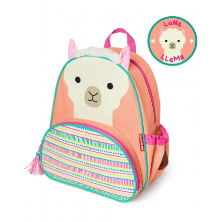 SKIP HOP Little Kid Zoo Backpack - Llama
