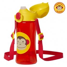 Skip Hop Zoo Lock-Top Sports Bottles - Monkey