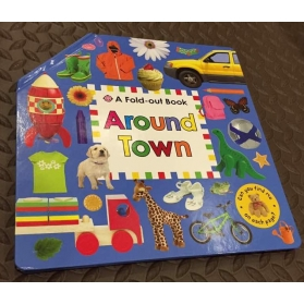 A Fold-Out Book: Around Town